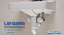 Truebro Lav Guard 2 Fast Fit Undersink Piping Covers