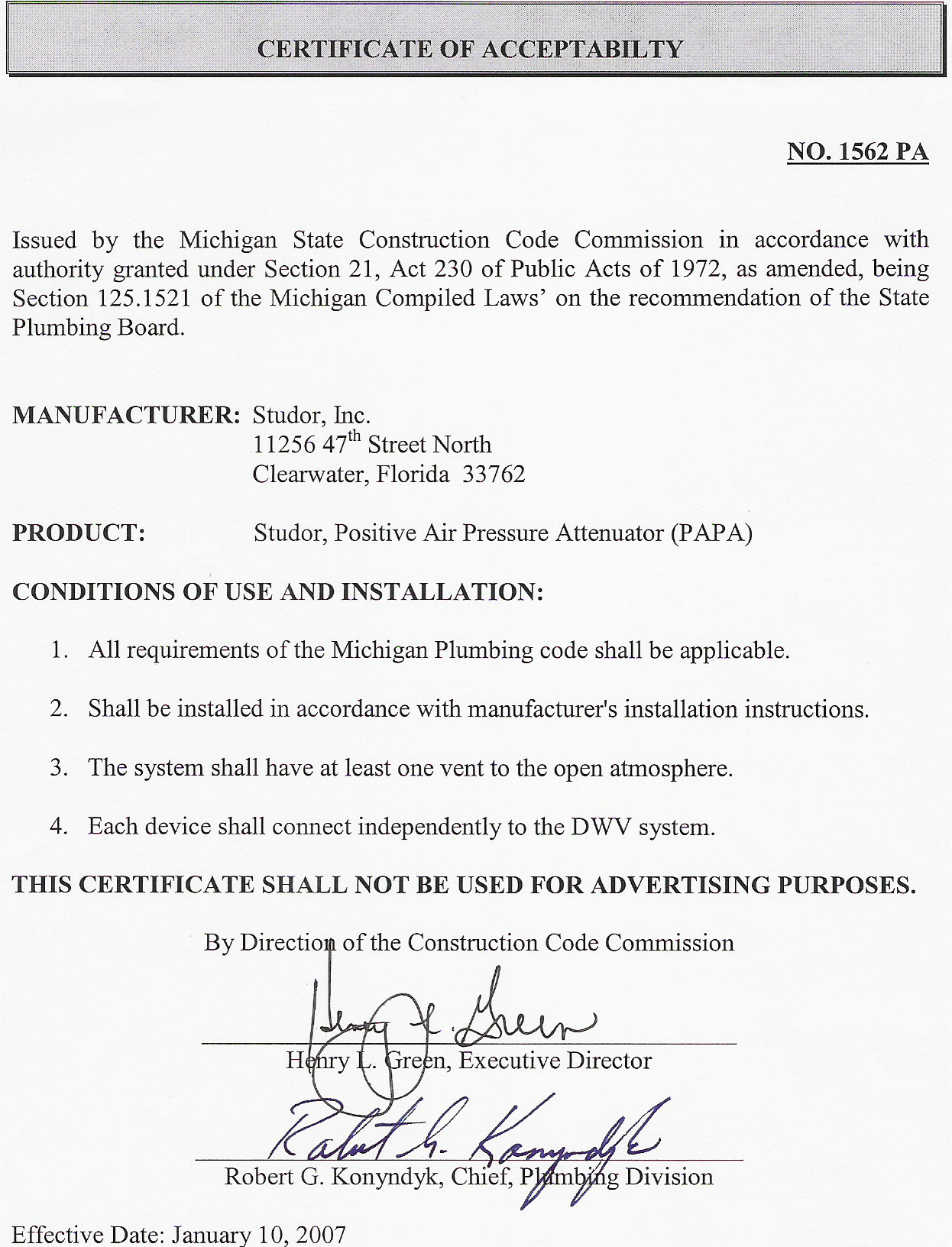 Product approval letters ips corporation papa letter of approval for michigan altavistaventures Gallery